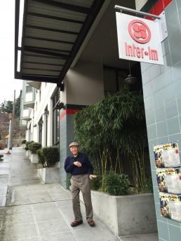 Uncle Bob outside InterIm 2